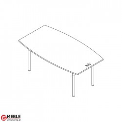 Stół konferencyjny Set SS-5 (180x110)