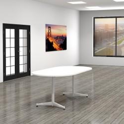 Stół zaokrąglony Leg Sing RI-1020 (200x100)