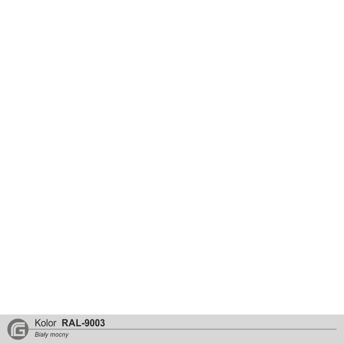 Biały struktura RAL-9003