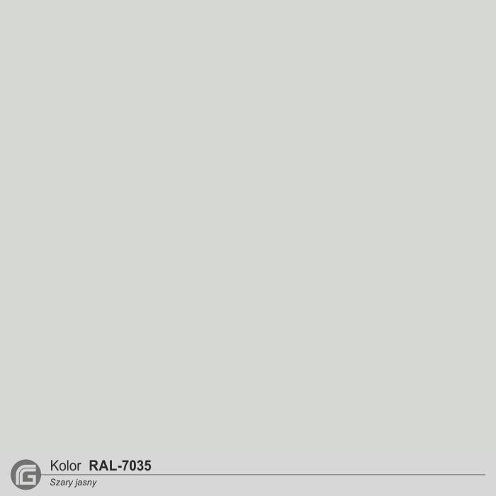 Szary jasny RAL-7035