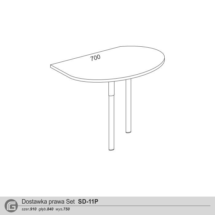 Dostawka prawa Set SD-11P
